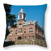 Old Courthouse Powhatten 5 Throw Pillow