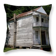 Old Cypress Inn Throw Pillow