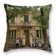 Old Fashioned Hanoi Throw Pillow