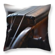 Old Fiddle 2 Throw Pillow