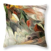 Old Flow Throw Pillow