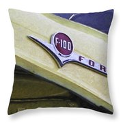 Old Ford Pick-up Throw Pillow