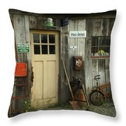 Old General Store Throw Pillow