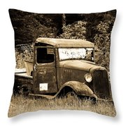 Old Gold Throw Pillow