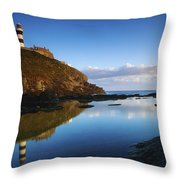 Old Head Of Kinsale, County Cork Throw Pillow