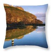 Old Head Of Kinsale Throw Pillow
