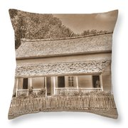 Old House In The Cove Throw Pillow