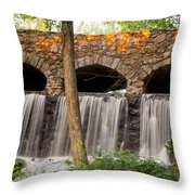 Old Industry Throw Pillow