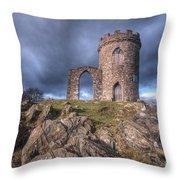 Old John Mug Tower 3.0 Throw Pillow