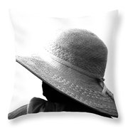 Old Lady Shady Two Throw Pillow