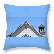 Old Lebanon Baptist Church Throw Pillow