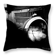 Old Mack Throw Pillow