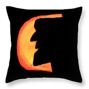 Old Man Of The Mountian Throw Pillow