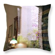 Old Market Reflections Throw Pillow