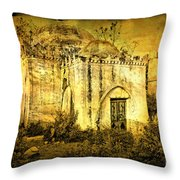 Old Masjid Throw Pillow