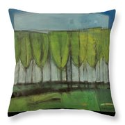 Old Men Plant Trees Proverb Throw Pillow