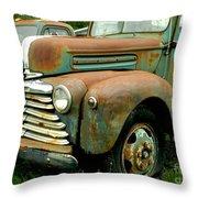 Old Mercury Truck Throw Pillow
