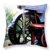 An Old Mill Throw Pillow