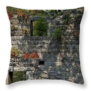 Old Mill Wall Throw Pillow
