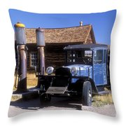 Old Mining Days - Bodie, Ca Throw Pillow