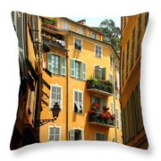 Old Nice Throw Pillow