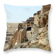 Old Orthodox Church Throw Pillow
