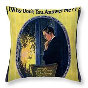 Old Pal Throw Pillow