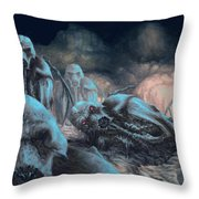 Old Place Throw Pillow