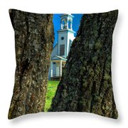 Old Reserve Church Throw Pillow