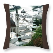 Old Salzburg Throw Pillow