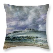 Old Sarum Throw Pillow
