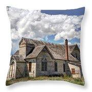 Old Schoolhouse - Ovid - Idaho Throw Pillow