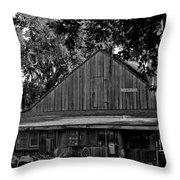 Old Spanish Sugar Mill Throw Pillow