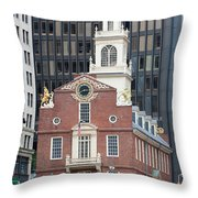 Old State House II Throw Pillow