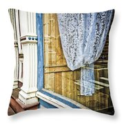Old Store Front 1 Throw Pillow