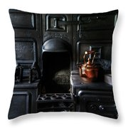 Old Stove Throw Pillow