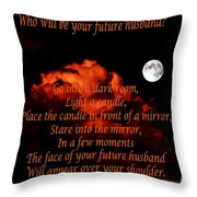 Old Superstition Throw Pillow