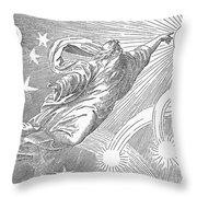 Old Testament: God Throw Pillow