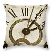 Old Time Throw Pillow