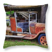 Old Timer Throw Pillow by Garry Gay