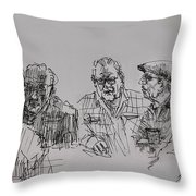 Old-timers  Throw Pillow