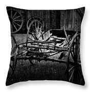 Old Times Turn Throw Pillow