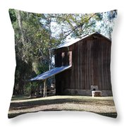 Old Tobacco Road Throw Pillow
