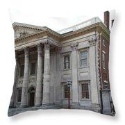 Old Town Philadelphia Iv Throw Pillow