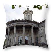 Old Town Philadelphia V Throw Pillow