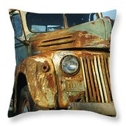 Old Tri-way Truck Throw Pillow