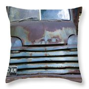 Old Truck I Throw Pillow
