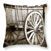 Old West Throw Pillow