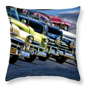 Oldies Get To Gather Throw Pillow