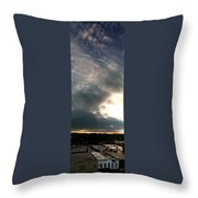 Olean Ny Throw Pillow